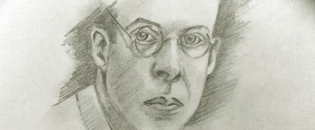 Aldous Huxley sketch