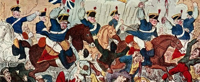 The Massacre of Peterloo