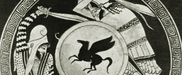 Greek fighting Persian