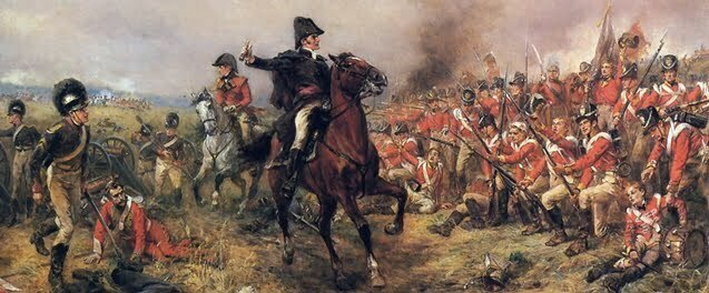 Duke of Wellington at Waterloo