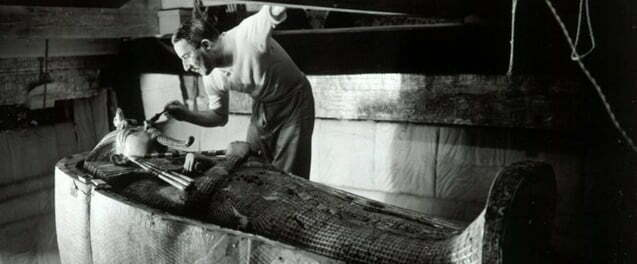 Howard Carter and Tutankhamen